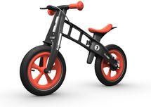 FIRST BIKE - Odrážadlo s brzdou Limited Edition Orange