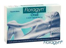 FLORAGYN - Vaginálne čapíky 6ks