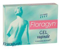 FLORAGYN - Vaginálny lubrikačný gél 6x9ml