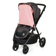 GMINI - Clona slnečná do kočíka rúžová potlač UNI
