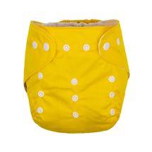 GMINI - Nohavičky plienkové žltá UNI