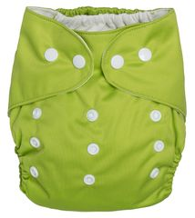 GMINI - plienkové nohavičky zelená UNI