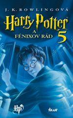 Harry Potter 5 - A Fénixov rád, 2. vydanie - Joanne K. Rowlingová