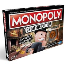 HASBRO - Monopoly  Cheaters edition SK