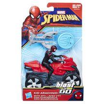 HASBRO - Spiderman 15 Cm Spiderman Na Štvorkolke