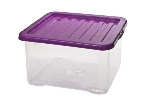 HEIDRUN - Box QUASAR s poklopom, 28 l