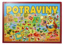 HYDRODATA - Spoločenská hra - POTRAVINY