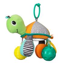 INFANTINO - Závesná korytnačka so zrkadlom a loptičkami