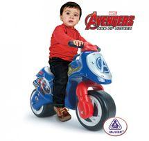 INJUSA - Odrážadlo Moto Neox Avengers, modré