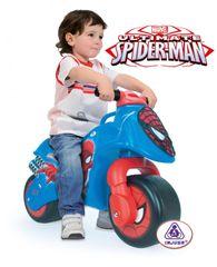 INJUSA - Odrážadlo Moto Spiderman New, modré