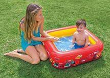 INTEX - baby nafukovací štvorcový bazén Cars 85 x 23 cm, katalógové číslo 57101