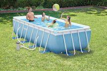 INTEX - bazén Prism Frame obdĺžnikový 400 x 200 x 100 cm s filtračným zariadením 267766