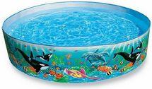 INTEX - bazén samonosný Kosatky 58461