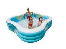 INTEX - bazén Swim center štvorcový