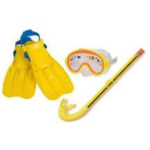 INTEX - detská potápacia súprava s plutvami malé