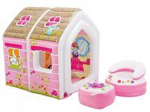 INTEX - Detský 48635 nafukovacie domček pre princeznú 124x109x122cm