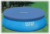 INTEX - krycia plachta na bazén okrúhla s priemerom 244 cm