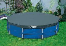 INTEX - krycia plachta na bazén okrúhla s priemerom 457 cm 28032
