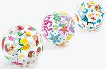 INTEX - nafukovacia lopta so vzorom 59040
