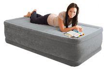 INTEX - nafukovacia posteľ 64412 Comfort Twin s integrovanou elektrickou pumpou