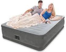 INTEX - nafukovacia posteľ 64414 Comfort Queen s integrovanou elektrickou pumpou