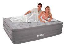 INTEX - nafukovacia posteľ 64418 Comfort Queen s integrovanou elektrickou pumpou