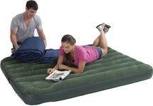 INTEX - nafukovacia posteľ 66928 Downy s integrovanou pumpou