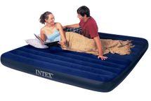 INTEX - nafukovacia posteľ 68755 King Classic Downy
