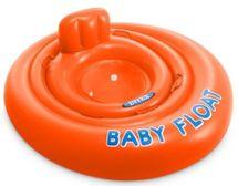 INTEX - nafukovacia sedačka do vody Baby float 76 cm oranžová