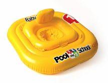 INTEX - nafukovacia sedačka do vody Baby float 79 cmštvorcová