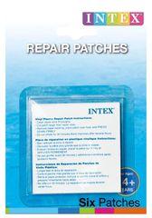 INTEX - Samolepiace záplaty 6x6cm/6ks