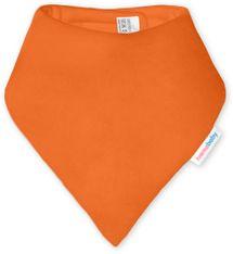 IVEMA BABY - Bavlnená šatka / podbradník - oranžová