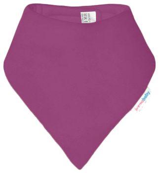 IVEMA BABY - Fleesová šatka na krk - fialová
