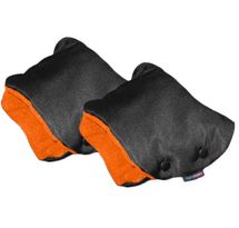 IVEMA BABY - Rukávnik na oddelené rukoväte (2 kusy) - oranžový