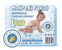 MONPERI - Jednorazové nohavičky 8-13 kg nohavičky - Pants L
