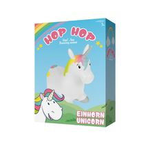 JOHN - Hopsadlo HOP HOP jednorožec 55x50cm