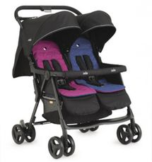 JOIE - Športový kočík pre dvojičky Aire Twin pink & blue