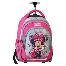 JUNIOR-ST - Školský batoh na kolieskach Smart Trolley Minnie Mouse, Fashion
