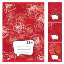 JUNIOR - Zošit A5, 60 listový - linajkový 564