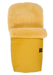 KAISER - Fusak NATURA Lammfell medizin - Mustard Yellow
