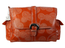 KALENCOM - Prebaľovacia taška Buckle Bag Stitches Orange
