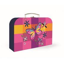 KARTON PP - Kufrík 34 cm Junior Premium - Motýľ