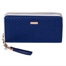 KARTON PP - Peňaženka dámska Blue Triangles - veľká