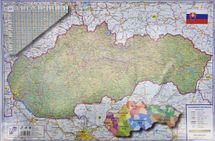 KARTON PP - Podložka na stôl - Slovenská republika 60x40cm
