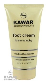KAWAR - Krém na nohy s minerálmi z Mŕtveho mora 150ml