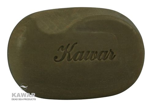 KAWAR - Mydlo s obsahom čierneho bahna z Mŕtveho mora 120g