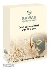 KAWAR - Pleťová maska s Aloe vera 300g (4x75g vrecúško)