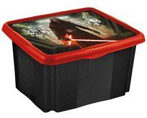 KEEEPER - Box na hračky Star Wars  24 l - čierný