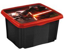KEEEPER - Box na hračky Star Wars  45 l - čierny