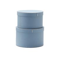 KIDS CONCEPT - Krabice guľaté 2 ks Blue